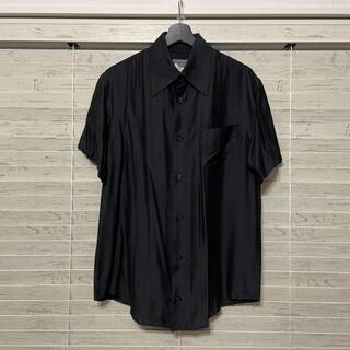ヨウジヤマモト(Yohji Yamamoto)のYohjiyamamoto POUR HOMME   シルク半袖シャツ (シャツ)