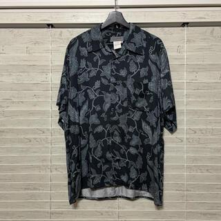 ヨウジヤマモト(Yohji Yamamoto)のYohjiyamamoto POUR HOMME   半袖シャツ フラワー (シャツ)