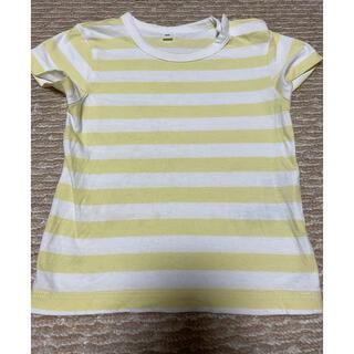 ムジルシリョウヒン(MUJI (無印良品))の無印良品 半袖ボーダーTシャツ 80(Tシャツ)