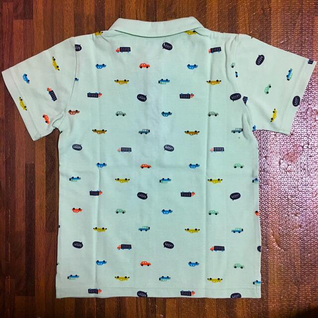 kladskap(クレードスコープ)の美品 クレードスコープ ポロシャツ120cm キッズ/ベビー/マタニティのキッズ服男の子用(90cm~)(Tシャツ/カットソー)の商品写真