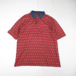 celine - 90s OLD CELINE セリーヌ 総柄 半袖 ポロシャツ カットソー L