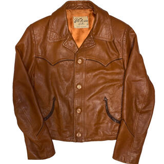 VINTAGE leather jacket (レザージャケット)