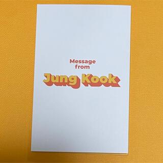 防弾少年団(BTS) - BTS Butter メッセージカード JUNGKOOK ジョングク