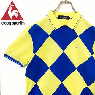 le coq sportif - ルコック ポロシャツ ゴルフウェア 半袖 オシャレ メンズ L