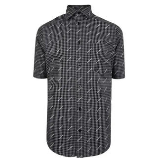 Balenciaga - 【超美品】BALENCIAGA ロゴ オーバーコットンシャツ 38