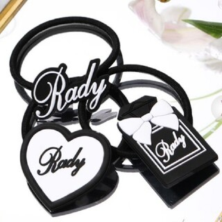 レディー(Rady)のRadyパフュームヘアゴム3個セット(ヘアゴム/シュシュ)
