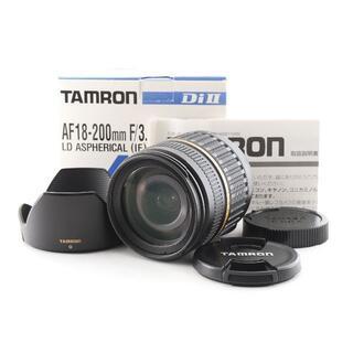 タムロン(TAMRON)のタムロン AF 18-200mm F/3.5-6.3 Di II LD ニコン用(レンズ(ズーム))