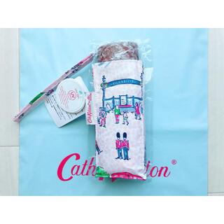 キャスキッドソン(Cath Kidston)の【新品】フルトン×キャスキッドソン タイニー アンブレラ UV ロンドンスポット(傘)
