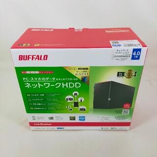 バッファロー(Buffalo)のバッファローネットワークHDDLS220D0402G(PC周辺機器)