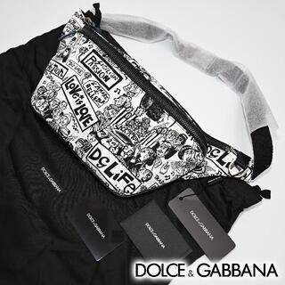 DOLCE&GABBANA - 新品 DOLCE & GABBANA ウエストポーチ ナイロン