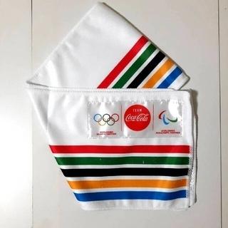☆(p^-^)尸『頑張れ日本』東京オリンピック2020 フェイスタオル