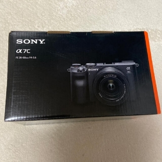SONY - ソニー ミラーレス一眼レフSONY α7C レンズキット ILCE-7CL