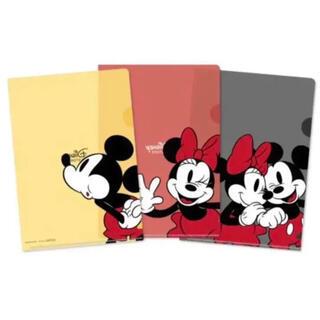 ディズニー(Disney)の【新品未使用未開封・非売品】ディズニーストア オリジナルクリアファイルセット(クリアファイル)