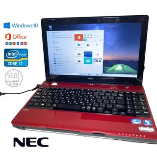 NEC - NECノートパソコン 新品SSD512GB 8GB
