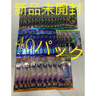 ポケモン(ポケモン)の蒼空ストリーム・摩天・イーブイヒーローズ・漆黒のガイスト40パックまとめ売り(Box/デッキ/パック)