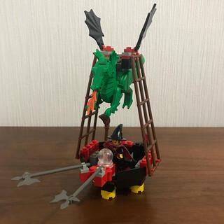 Lego - LEGO レゴ  6037 魔女のゴンドラ お城シリーズ 魔女ヒルダ ドラゴン