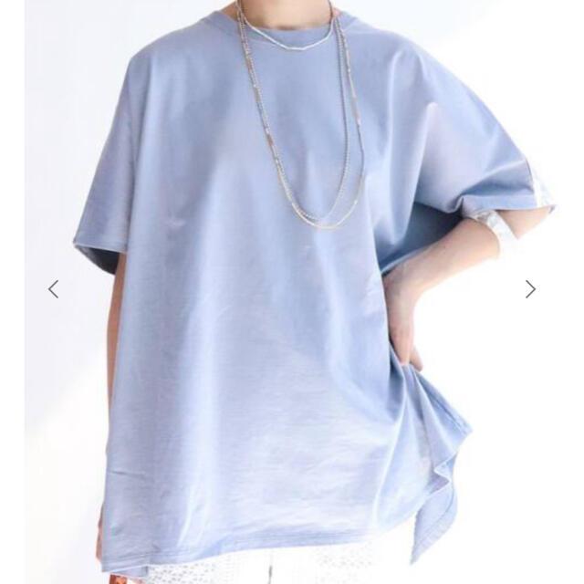 IENA(イエナ)のIENA⭐️Tシャツ ラウンドテール BIGプルオーバー レディースのトップス(Tシャツ(長袖/七分))の商品写真