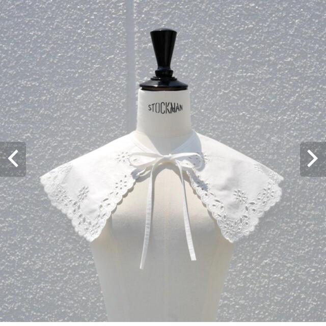 Drawer(ドゥロワー)のgypsohila  Wide Collar ジプソフィア つけ襟 レディースのアクセサリー(つけ襟)の商品写真