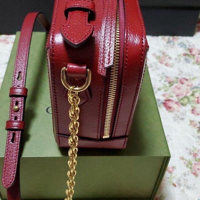 Gucci(グッチ)のGUCCIグッチ ドラえもん牛ウシエモン チェーンバッグ レディースのバッグ(ショルダーバッグ)の商品写真