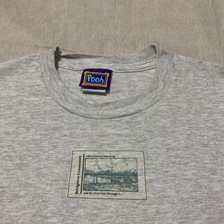 レア 90s ビンテージ プーさん ディズニー フォト アート 古着  tee(Tシャツ/カットソー(半袖/袖なし))
