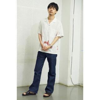 Levi's - 【極美品】Levi's 517 デニムパンツ 濃紺 フレア ベルボトム