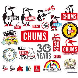 チャムス(CHUMS)のChums チャムス アウトドア ロゴ ステッカー 計26枚(しおり/ステッカー)