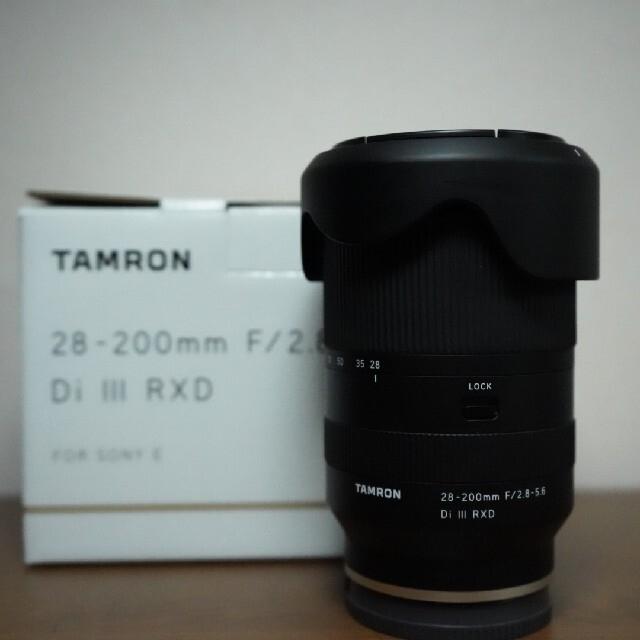TAMRON 28 200 F/ 2.8-5.6 Di III RXD スマホ/家電/カメラのカメラ(レンズ(ズーム))の商品写真