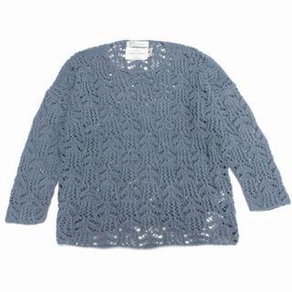 SUNSEA - DAIRIKU 21SS flower pattern knit