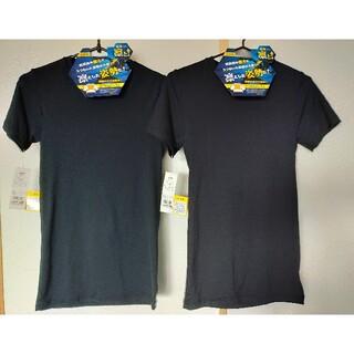イオン(AEON)の新品 未使用 160cm 姿勢凛と!半袖Tシャツ 2枚 定価3476円(Tシャツ/カットソー)