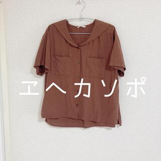 エヘカソポ(ehka sopo)のエヘカソポ セーラーカラー半袖シャツ(シャツ/ブラウス(半袖/袖なし))