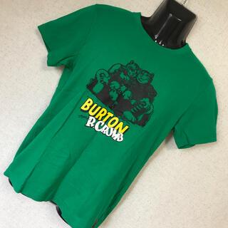 バートン(BURTON)のBURTON バートン ビッグシルエット ロゴプリント Tシャツ S(Tシャツ/カットソー(半袖/袖なし))