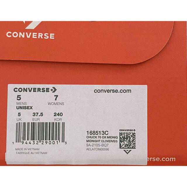 CONVERSE(コンバース)のCONVERSE CHUCK TAYLOR LOW CT70 24cm  レディースの靴/シューズ(スニーカー)の商品写真