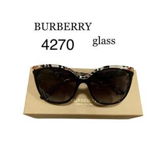 バーバリー(BURBERRY)の完全未使用品 バーバリー Burberry  サングラス 4270 37298g(サングラス/メガネ)