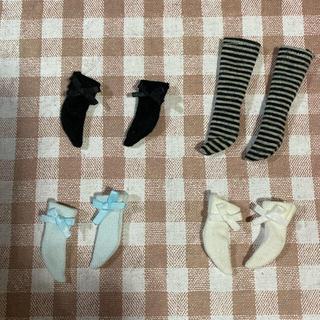 ボークス(VOLKS)の1/6サイズ靴下4点セット(人形)