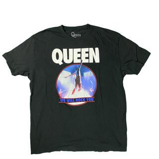 【希少】Queen 古着 バンドTシャツ オフィシャル ヴィンテージ(Tシャツ/カットソー(半袖/袖なし))
