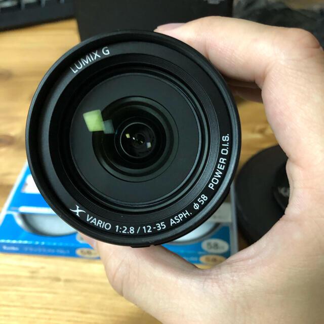 Panasonic(パナソニック)の LUMIX G X VARIO 12-35F2.8 2 保証残あり スマホ/家電/カメラのカメラ(レンズ(ズーム))の商品写真