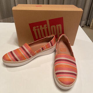 fitflop - 新品未使用!FITFLOP  CASA LOAFERS オレンジストライプ