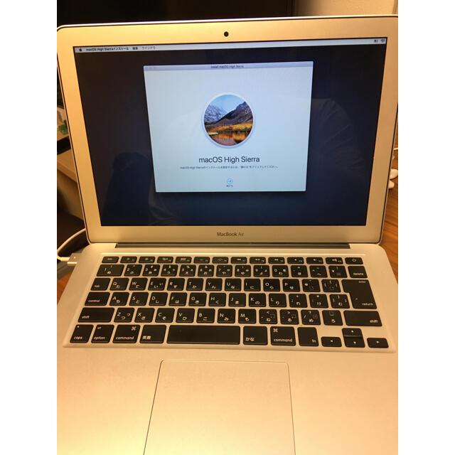 Apple(アップル)のmacbook air 2012 スマホ/家電/カメラのPC/タブレット(ノートPC)の商品写真