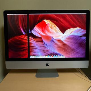 マック(Mac (Apple))のiMac 27インチ 2012  ジャンク品 モニターに線(デスクトップ型PC)