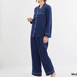 GU - サテン パジャマ 長袖