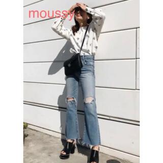 moussy - フレアデニム