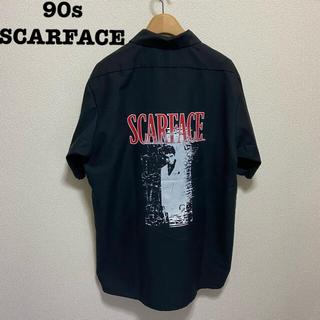 SCARFACE スカーフェイス 90s ヴィンテージ ワークシャツ