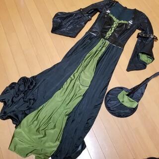 高級感【魔女】2点セット/衣装コスプレ(衣装一式)