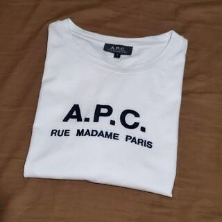 A.P.C - A.P.C. 刺繍ロゴTシャツ