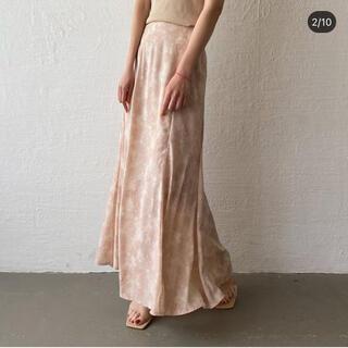試着のみ♡howdy♡marble mermaid skirt♡ピンク