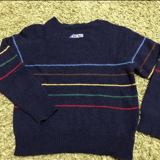 familiar(ファミリア)のファミリア familiarニット セーター 120 キッズ/ベビー/マタニティのキッズ服男の子用(90cm~)(ニット)の商品写真