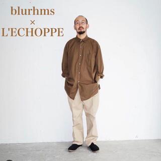 コモリ(COMOLI)のblurhms×L'ECHOPPE 渋谷限定(シャツ)