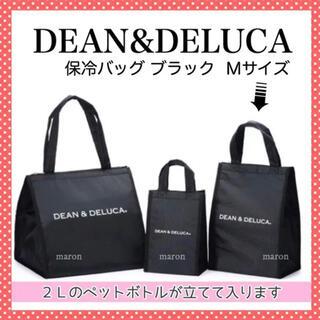 DEAN & DELUCA - DEAN&DELUCA保冷バッグ黒Mサイズ トートバッグエコバッグ ランチバッグ