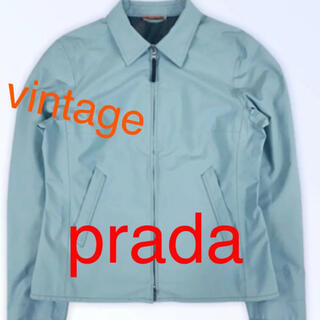 PRADA - レアvintage ❗️1999 プラダスポーツ スカイブルー ジップriri