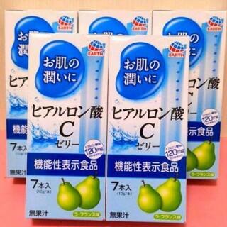 アース製薬 - アース製薬【5箱×7本入】お肌の潤いにヒアルロン酸Cゼリー  たるみ シワ ハリ